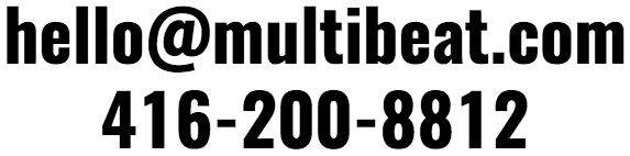 Music Composition and Audio Postproduction in Toronto - Multibeat Creative is your destination.