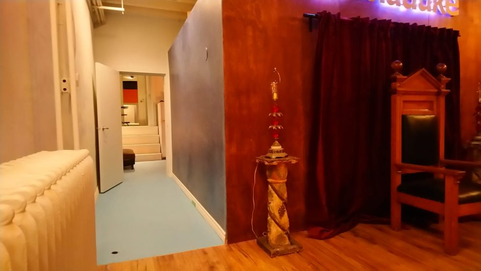The newly renoved Roncesvalles-area recording studio and event space
